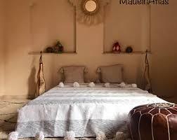 moroccan bedding etsy