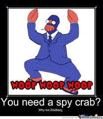 Spy Meme - spy crab by recyclebin meme center