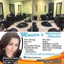 monica u0027s haircut studio hair salons 4830 higway 6 n houston