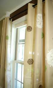 my thrifty curtain project that only looks good through squinted stenciled curtains