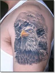 75 awesome eagle shoulder tattoos