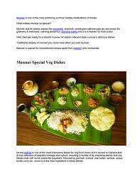 cuisine etc munnar special food items you must eat by marya issuu