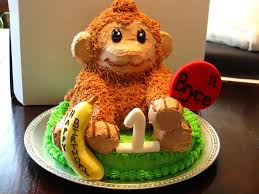 Birthday Cake Decoration Ideas At Home by Birthday Cake Monkey Design Image Inspiration Of Cake And