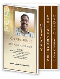 funeral program template funeral program layouts funeral program designs