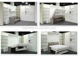 fold away furniture fold away bed transformable bed wall bed with study table view