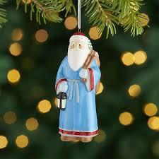 around the world greece santa ornament crate and barrel