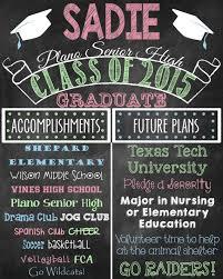 7 best graduation chalkboard poster images on pinterest