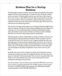 financial business plan template 9 real estate business plan