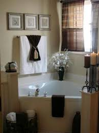 bathroom staging ideas it s a much but i like the towels with the ribbon