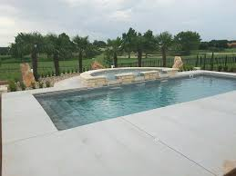 Tanning Salons In Coral Springs Claremont Fiberglass Pool By Aquamarine Pools Of Texas With Semi