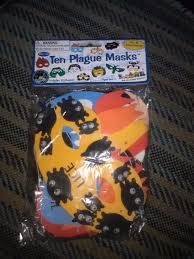 passover plague masks rite lite judaica passover plague masks kids holidays set