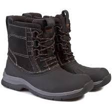 boots uk size 9 clarks mens nashoba summit black leather ankle boots uk size