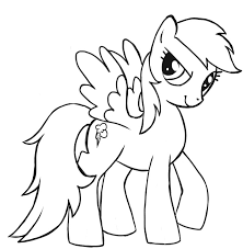 my little pony christmas coloring pages rainbow dash my little pony coloring page my little pony