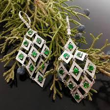 Chandelier Gold Earrings Timeless Diamond Shape Chandelier Earrings U2013 New Wave Jewellery