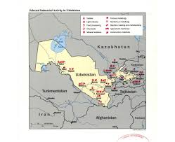 Bishkek Map Maps Of Uzbekistan Detailed Map Of Uzbekistan In English