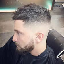 goodlooking men with cropped hair top men s hair trends 2018 short cropped hair crop hair and bald fade