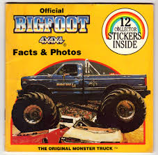 toy bigfoot monster truck peel here 31 truckasaurous branded in the 80s