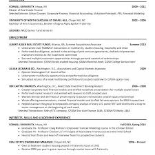 resume exles for college internships in florida investment bankingtern resume template best sle pdf objective