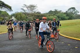 le bureau verte le bureau des nations unies à nairobi lance un programme de vélos en