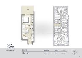floor plans elite business bay residence dubai