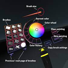a painter paint in vr in your browser