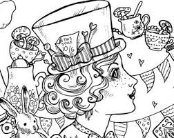gothic fairy coloring pages enchanted designs fairy mermaid blog