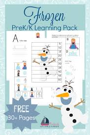 free frozen preschool printable pack money saving mom