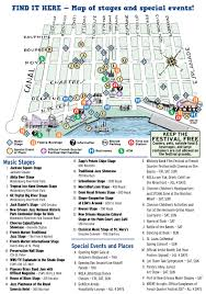 Garden District New Orleans Walking Tour Map by French Quarter Festival Returns To New Orleans