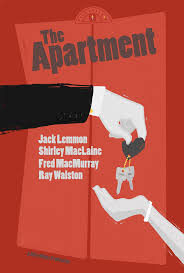 the apartment the apartment movie poster on behance