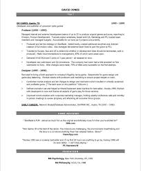 video game producer page2 entertainment resumes pinterest