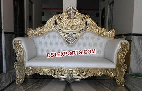 indian wedding chairs for and groom muslim wedding beautiful sofa dstexports