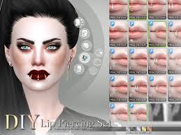 Middle Lip Piercing Pralinesims Diy Lip Piercing Set