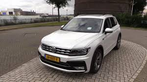 volkswagen tiguan white 2017 2017 volkswagen tiguan r line start up drive in depth review
