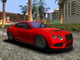 bentley continental gt3 r bentley continental gt3r 2015 for gta san andreas
