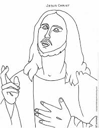 coloring jesus jesus coloring pages jesus christ picture full jesus coloring