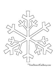 snowflake stencil 04 free stencil gallery