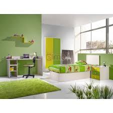 chambre enfant verte enfant complète verte 5 pièces green
