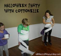 halloween games with cottonelle a little craft in your day