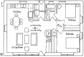2 bedroom ranch floor plans solar ranch house plan