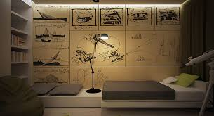mur chambre ado chambre ado deco mur