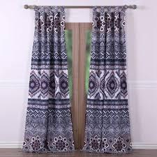 Tie Top Curtain Panels Tie Top Curtains Wayfair