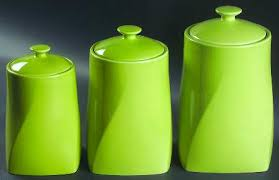 lime green kitchen canisters certified int corp colorworks lime green at replacements ltd