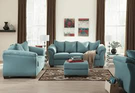 brown turquoise living room simpl wooden flooring artistic oval