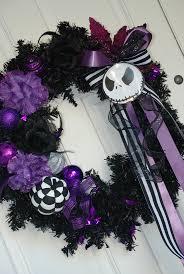halloween door wreaths nightmare before christmas door wreath halloween stuff pinterest