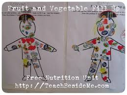 food and nutrition unit teach beside me