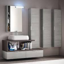armadietti per bagno carrello cucina legno bianco decape