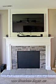 How To Make Fake Fireplace by How To Make A Faux Fireplace