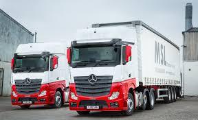 mercedes truck dealers uk msl forges a winning partnership with mercedes dealer