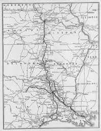 Map Of Kansas City Mo The Kansas City Southern Railway