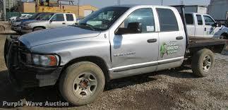 2005 dodge ram 2500 quad cab flatbed pickup truck item j25